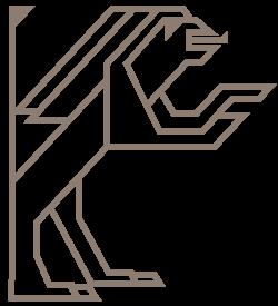 de Sleutelkonining Leeuw links
