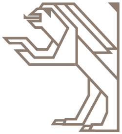 de Sleutelkonining Leeuw rechts